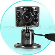 Mini videonadzorna kamera z mikrofonom