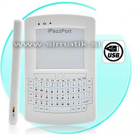 Mini osvetljena USB tipkovnica in touchpad (miška)
