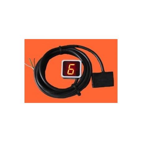 Indikator prestav za motorno kolo - izvedba 6B