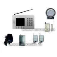 Brezžični hišni alarm s klicem na GSM - CH-002
