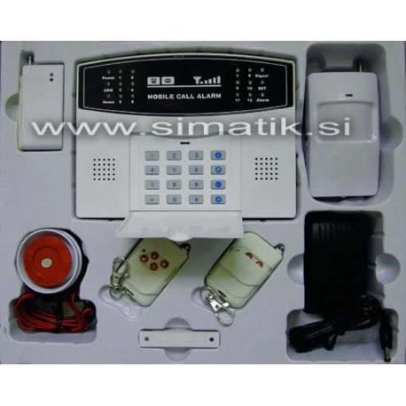 Brezžični hišni alarm z GSM modulom - GSM-030