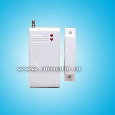 Brezžični magnetni senzor za vrata ali okna