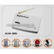 Brezžični hišni alarm z GSM modulom - GSM-026