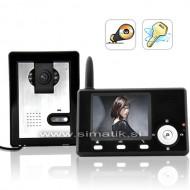 """Brezžični domofon s 3,5"""" LCD in snemalnikom fotografij"""