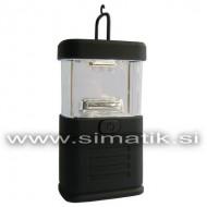 Prenosna LED luč z 11 LED diodami (kampiranje, ribolov...)
