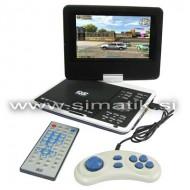 Vrtljiv prenosni DVD/USB/SD predvajalnik - DIVX,MP3,FOTO,IGRE