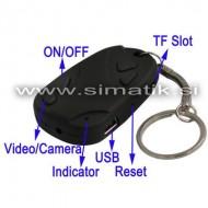 Spy kamera v obliki obeska za ključe (1280x960)