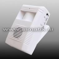 Prenosni infrardeč senzor z opozorilom