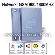 Univerzalni GSM alarm - VRATA, OKNA, ZVOK, LOKACIJA