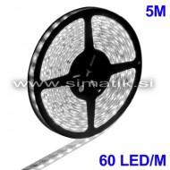 LED trak / BEL / 60 LED / 5050 SMD / vodoodporen / 12V / 9,6W