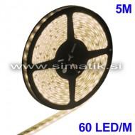 LED trak / T. BELA / 60 LED / 5050 SMD / vodoodp./ 12V / 4,8W