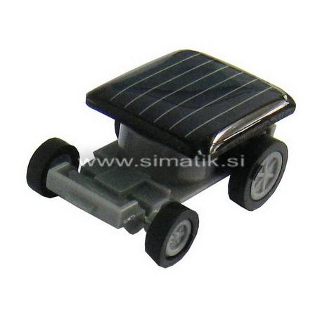 Solarna vozilo - mini igrača na sončne celice