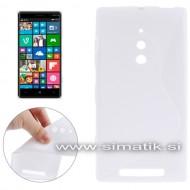 """TPU gel ovitek """"S-Line"""" za Nokia Lumia 830 - BEL (nedrseč)"""