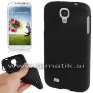 TPU gel ovitek za Samsung Galaxy S4 - ČRN (nedrseč)