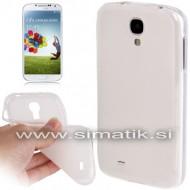 TPU gel ovitek za Samsung Galaxy S4 - PROZOREN (nedrseč)