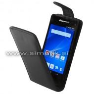 Flip etui za Sony Xperia Z2 Compact iz um. usnja (magnetno zap.)