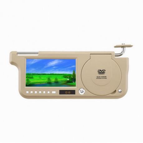 LCD senčnik z USB,SD,MP3,DIVX... GK-700D
