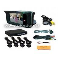 """Parkirni senzorji s kamero in 2,3"""" LCD ekranom RD729C4"""